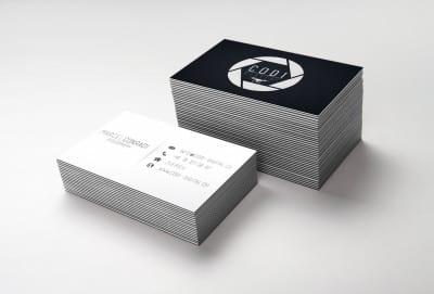 Visitenkarten Drucksachen Geschäftsausstattung CODI DIGITAL