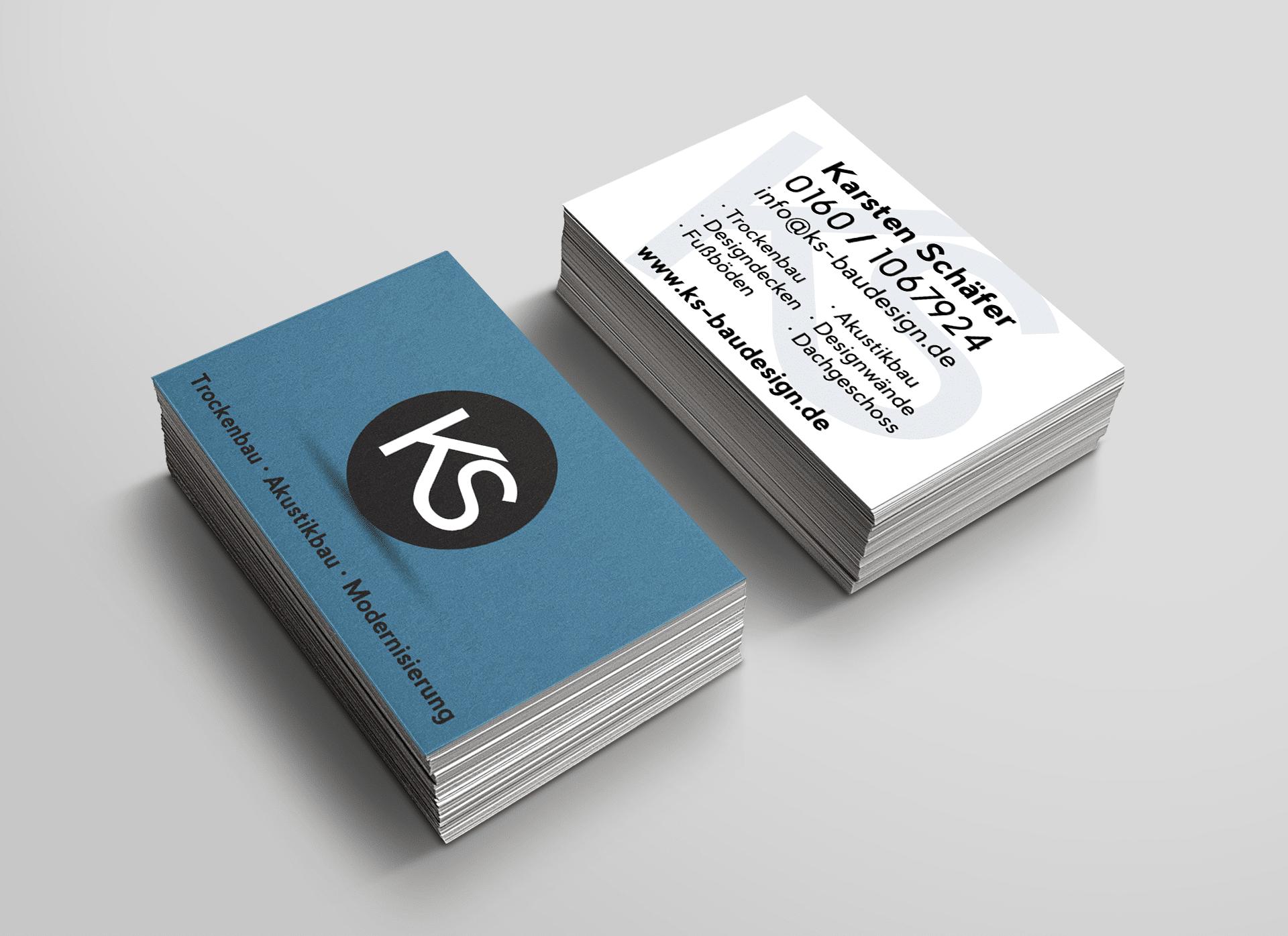 KS Baudesign Startseite Webseite Webdesign Webauftritt Website Corporate Design Logo Design Grafik Visitenkarte Geschäftsausstattung
