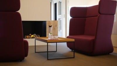 Hunoldhaus Webanwendung Flyer Drucksachen Geschäftsausstattung Digital Signage Touchbildschirm Showroom