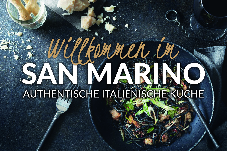 San Marino Leinefelde Restaurante Speisekarte Druck Webseite Online Speisekarte Webdesign Homepage