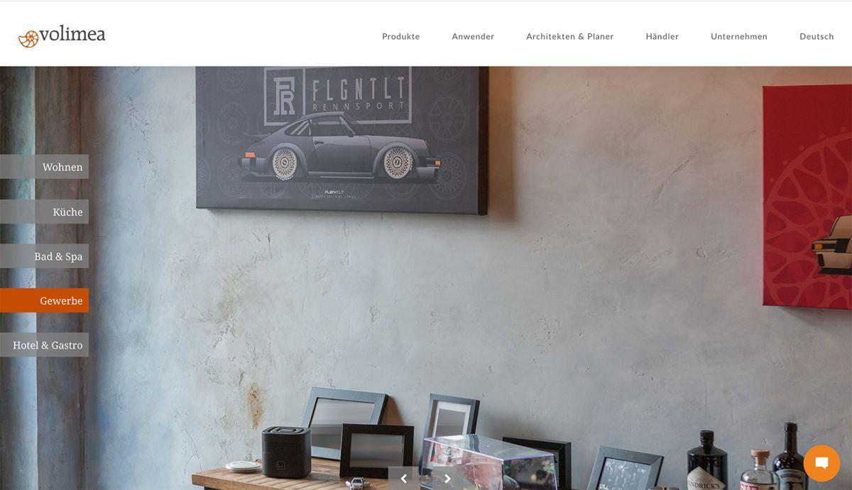 Volimea Webseite Webseiten erstellen lassen Wordpress Theme