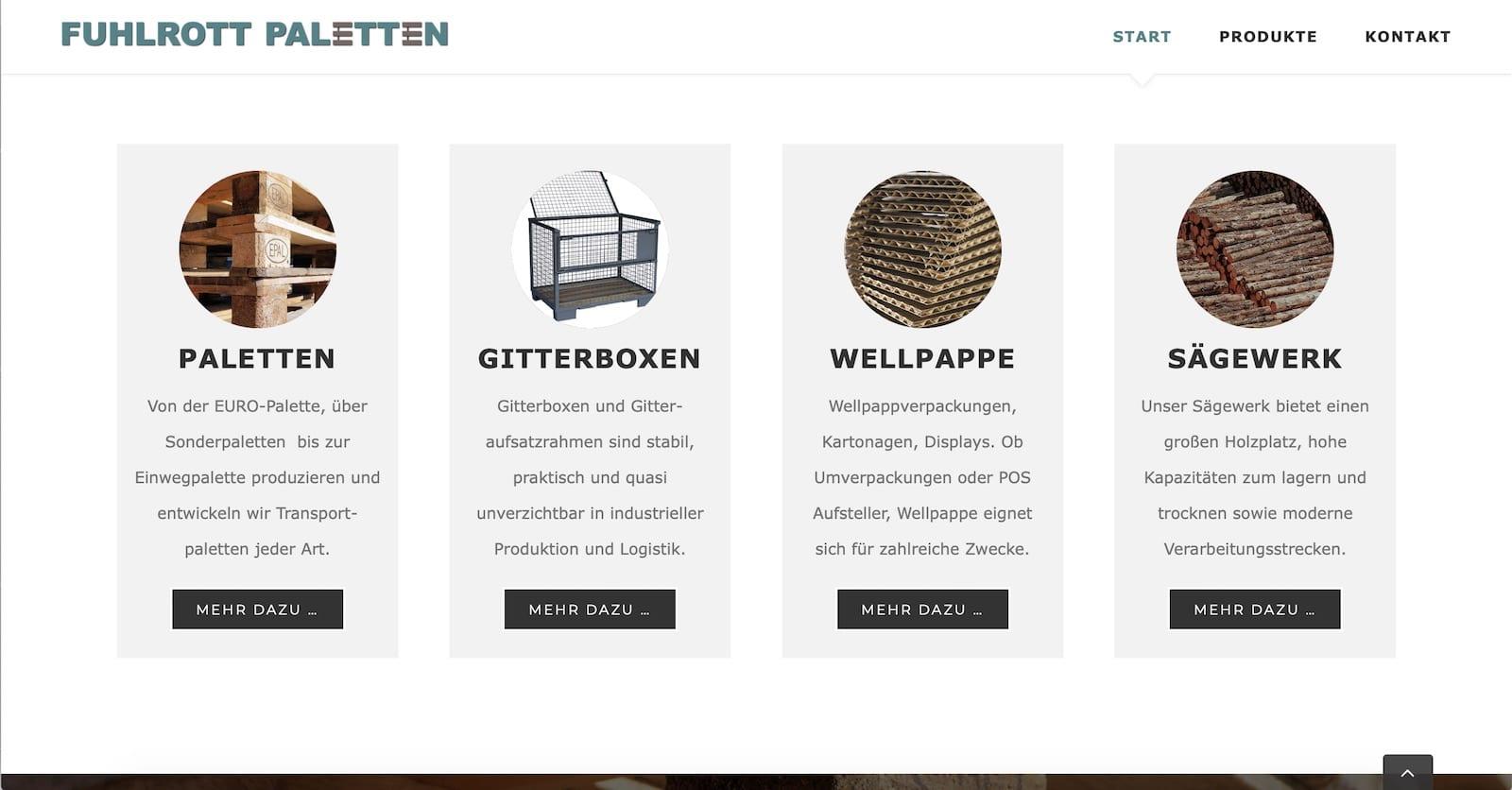 Unternehmenswebseite Unternehmens Seite Webseite für Unternehmen Firmen Homepage