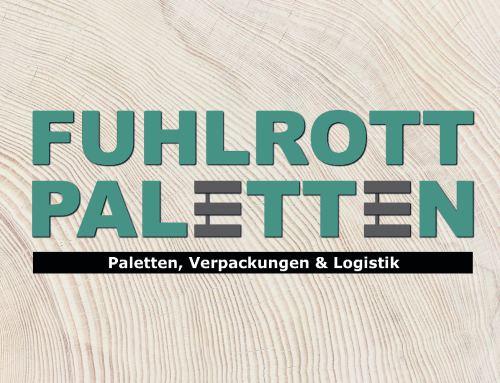 Unternehmens-Webseite für Fuhlrott Paletten