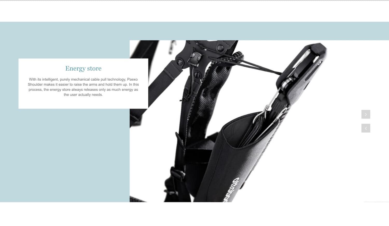 Webdesign in Duderstadt für Ottobock Industrials